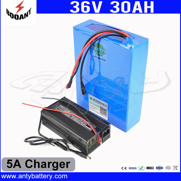 36V 30Ah Lithium Bike Battery For 8FUN Bafang Motor With 18650 Cell 5A Charger 50A BMS Electric Bike Battery 36V Free Shipping 30a 3s polymer lithium battery cell charger protection board pcb 18650 li ion lithium battery charging module 12 8 16v