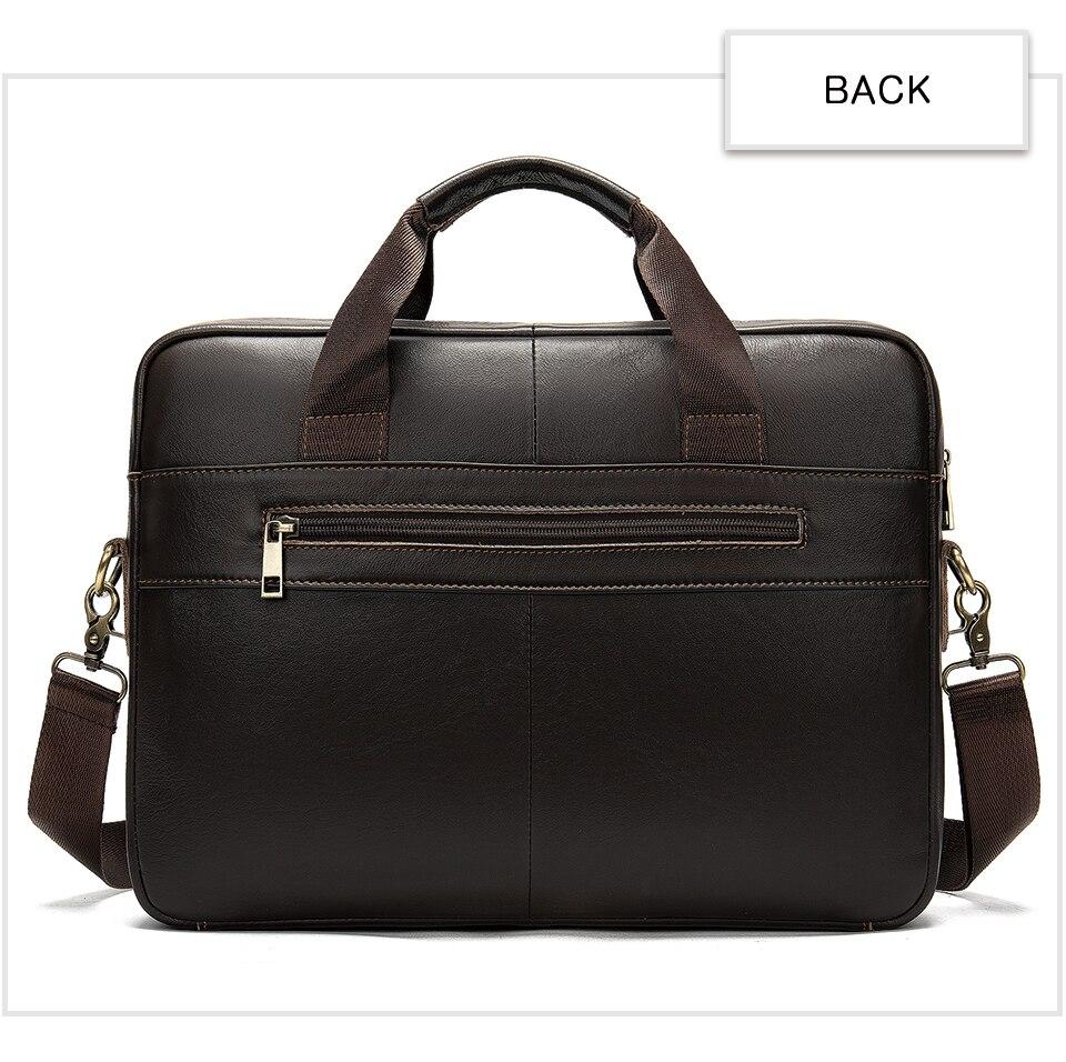 HTB119wsUXzqK1RjSZFoq6zfcXXal MVA men's briefcase/genuine Leather messenger bag men leather/business laptop office bags for men briefcases men's bags 8572