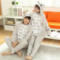 Adult Child Flannel Cosplay Costume TOTORO  Unicorn Onesie Costumes For Unisex Create Dance Fancy Pajama Halloween Party
