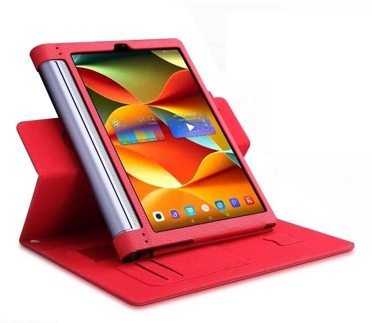 все цены на  Hand Strap&Credit Card Slot Slim MagSmart Removeable Stand Leather Cover Case For Lenovo Yoga Tab 3 Pro 10 YT3-X90/X90F/ M / L  онлайн