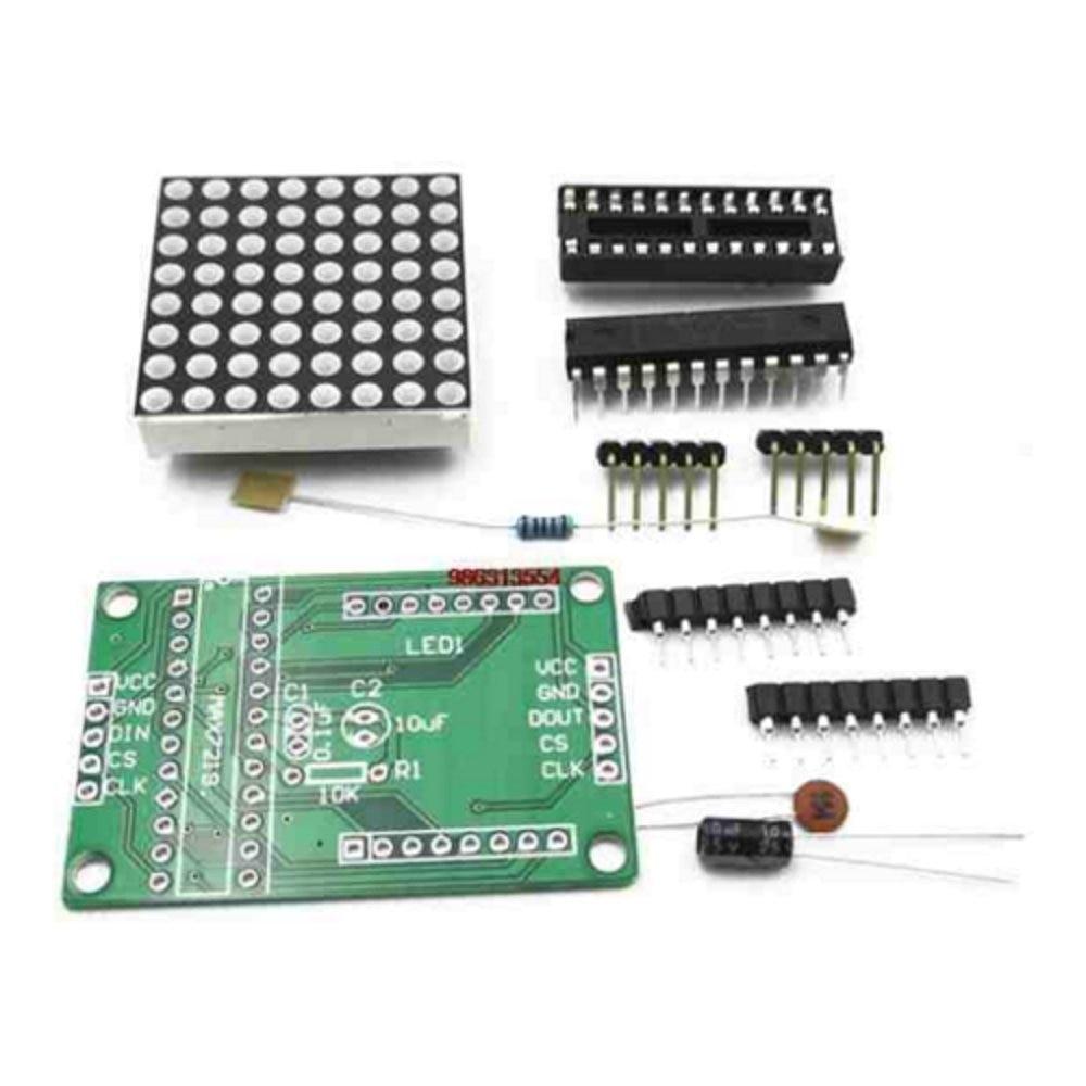 ShenzhenMaker 5pcs MAX7219 dot matrix module microcontroller module DIY KIT