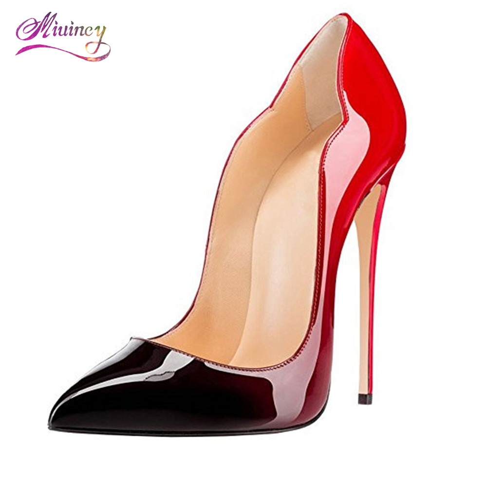 2017 Sexy Shoes Women Pointed Toe Extreme High Heels Stiletto Women Pumps Wedding Shoes Party Dress