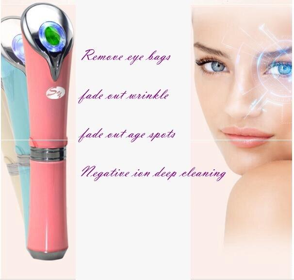 China Top grado eliminar bolsas de los ojos ojo belleza instrumento vibración aparato masajeador de ojos masaje pen