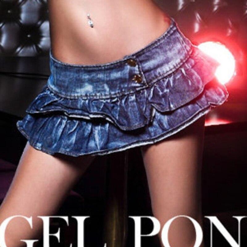 1pcs Women sexy super jean shorts skirts 2017 Summer Denim Cotton splicing Pole dancing Shorts Ladies Skinny shorts skirts Girls