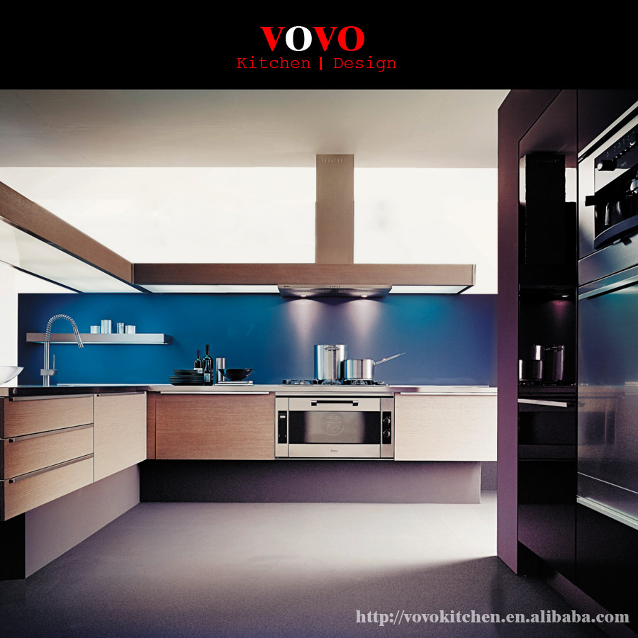 Kitchen Cabinets Used: High Gloss Lacquering Finish Used Kitchen Cabinets-in