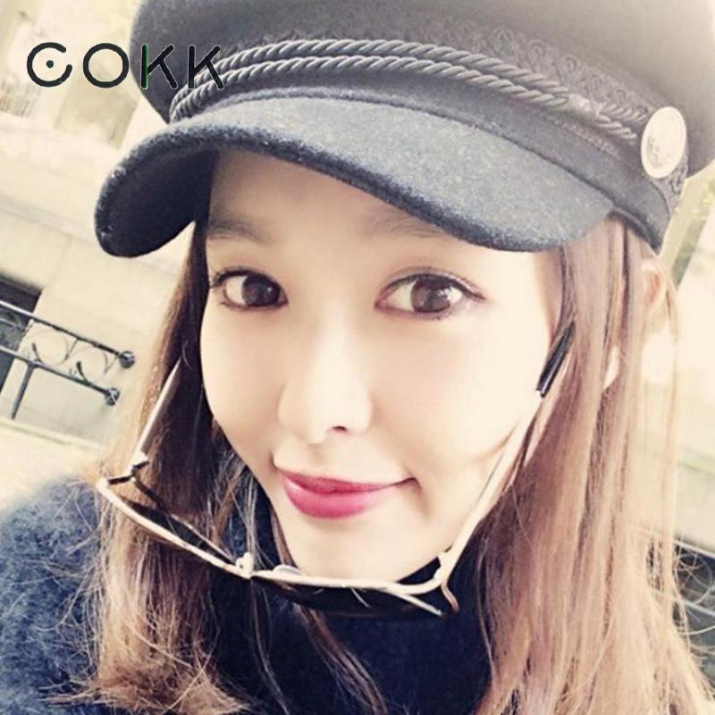 COKK Winter Hats For Women Men Octagonals