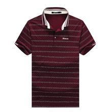 9XL 8XL 6XL High high quality model males polo shirt new summer season informal striped cotton males's polo stable polo shirt polo ralp males camisa