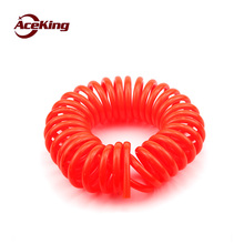 Spring tube Imported PU spring 6*4 helical 8*5 air pressure hose 10*6.5 duct 12*8 3/6/9 m 12M
