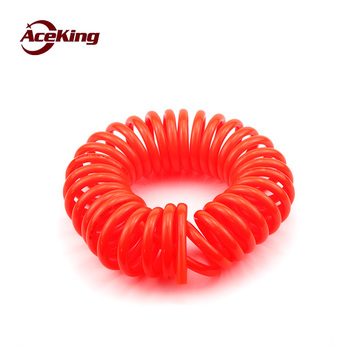 цена на Spring tube Imported PU spring tube 6*4 helical tube 8*5 air pressure hose 10*6.5 air duct 12*8 air duct 3/6/9 m 12M