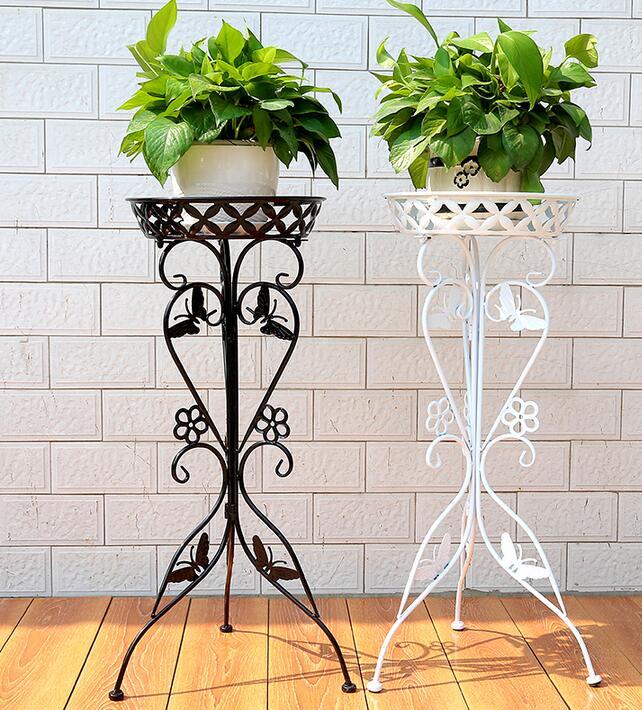 Achetez en gros supports pour plantes en fer forg en - Pedestales para macetas ...
