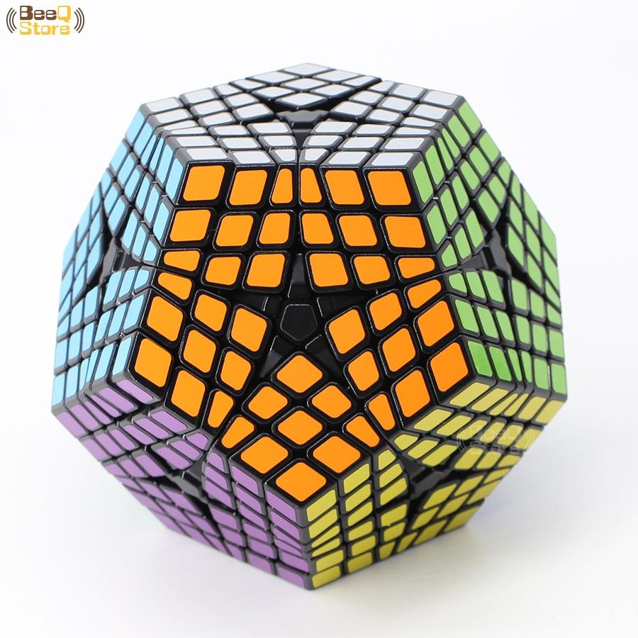 Shengshou Wumofang 6x6x6 Cube magique Elite Kilominx 6x6 professionnel Dodecahedron Cube Twist Puzzle jouets éducatifs-in Cubes magiques from Jeux et loisirs    2