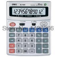 Pronunciation Effective Voice Calculator 1531 Large Screen Live 12 Metal Panels