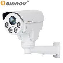 Einnov poe ptz видеонаблюдения ip-камера открытый водонепроницаемая камера видеонаблюдения sd card слот onvif sony imx322 1080 p оптический зум