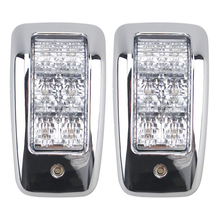 1 Pair LED Car Top Lamp Truck Dome Lights High Power Indicator Light for 24V Vehicles Trailers