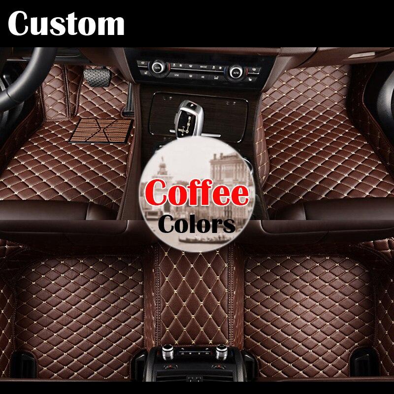 все цены на  Good quality Custom fit car floor mats for  r TOYOTA old COROLLA 2011-2015 3D car-styling carpet liners   accessories  онлайн