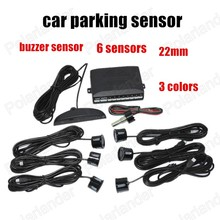 High Quality screen monitor Sample Available Reverse Backup Radar Car Parking sensor 22mm 3 colors Sound Alarm Indicator