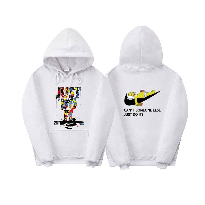 New just do it hoodies High Quality fashion skateboard Streetwear sweatshirt polerones mujer men women wool hoodie sweat