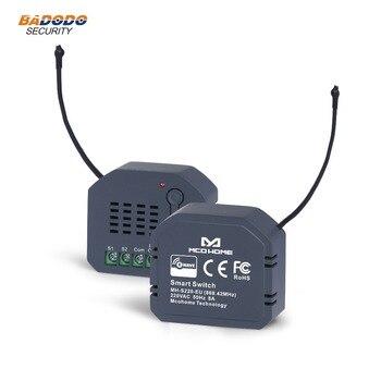 Z wave ЕС 868,42 МГц настенный модуль выключателя питания, один релейный выход, модуль ПЕРЕКЛЮЧАТЕЛЯ ВКЛ/ВЫКЛ, Бытовая лампа управления освещением Автоматизация зданий      АлиЭкспресс