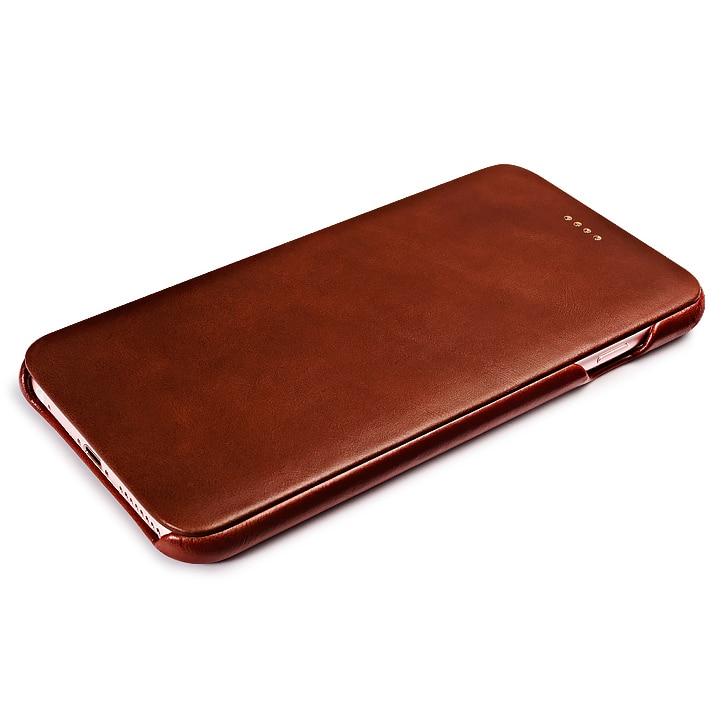 Asli ICARER Pemegang Kartu Kulit Asli Kasus Untuk iPhone6 6 s - Aksesori dan suku cadang ponsel - Foto 3