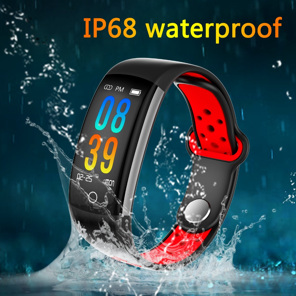 все цены на Hembeer C6 Smart Band IP68 Fitness Tracker Bracelet Blood Pressure Watch Pulsometer Smartband For xiomi mi a1 Vivo PK H5 F1 онлайн