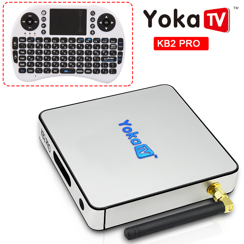 KB2 PRO Android Tv Box 3GB RAM 32GB ROM Amlogic S912 Octa Core Android 6.0 Tv Box 2.4G/5GHz Dual WiFi 1000M LAN Tv set top Box