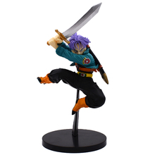15cm Dragon Ball Z Budokai 4 SCultures Future Trunks Tenkaichi PVC Action Collectible Model Toy Figure Super Saiyan Dragonball