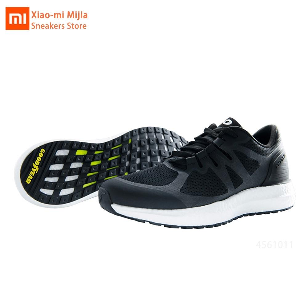 Chaussures de course originales Xiaomi Mijia Amazfit Marathon chaussures de course légères respirantes à lacets Sport baskets pour hommes femmes