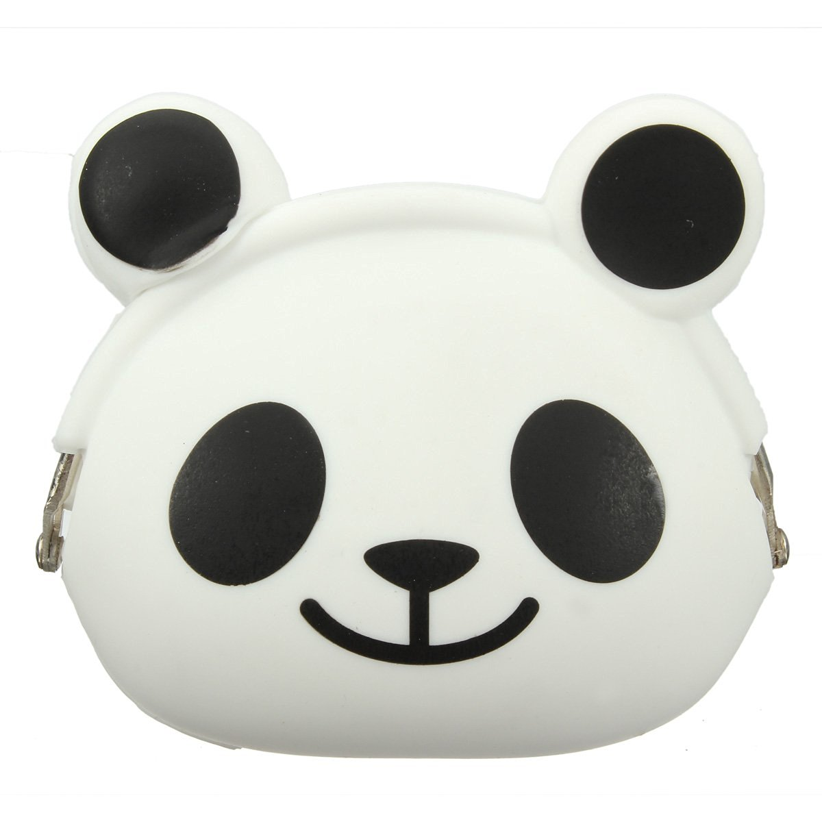 5pcs( ABDB-Women Girls Wallet Kawaii Cute Cartoon Animal Silicone Jelly Coin Bag Purse Kids Gift Panda