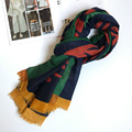 Winter Scarf Women Vine Ornament Large Shawl Blanket Scarf Designer NEW 180x100 cm [0878]