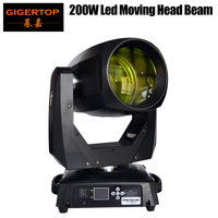 Gigertop 200W New Led Moving Head Beam Light Tyanshine Led White Color 8 Facet Prism Beam Effect with Frost Lens Fast TP L200B