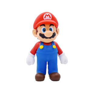 Image 5 - 8 15cm Super Mario Figure giocattoli Mario Bros Bowser Luigi Koopa Yoshi Mario Maker Odyssey PVC Action Figure modello bambole giocattoli regalo