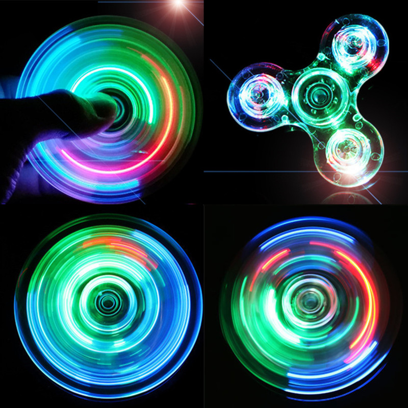 New Fashion Fidget Spinner For Autism and ADHD Anti Anxiety Hand Spinner EDC Metal Zinc Alloy Spinner Adult Kid Gift Toys multi color gyro led light finger spinner fidget plastic abs hand for autism adhd anxiety stress relief focus toys gift
