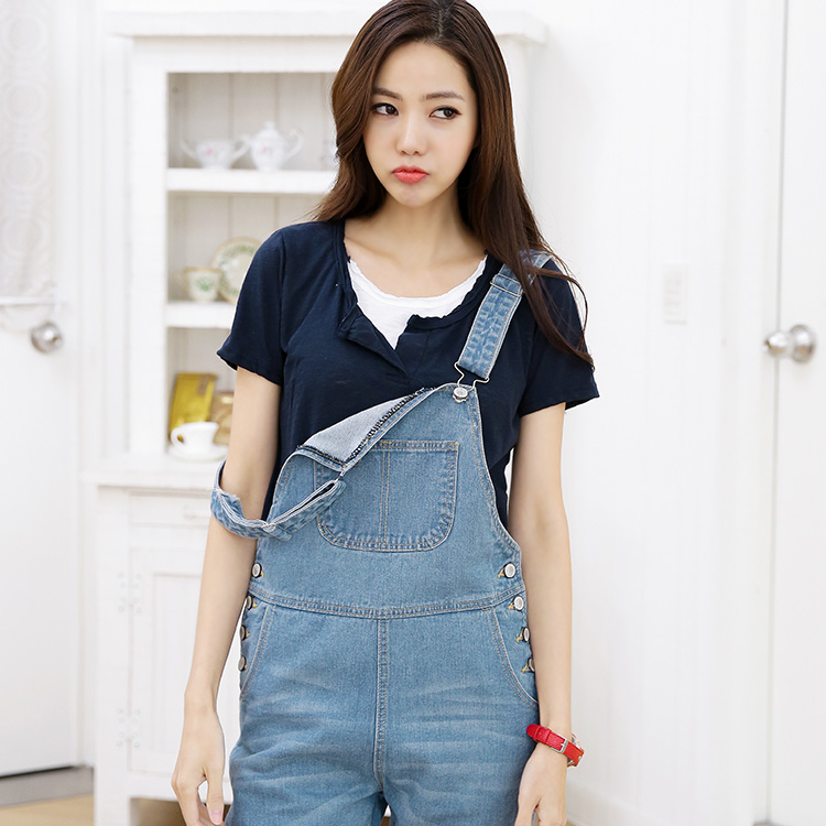 New Denim Jumpsuit Rompers womens jumpsuit Salopette Suspenders Overalls Thinner Siamese Dungarees jeans C0004 plus size pants the spring new jeans pants suspenders ladies denim trousers elastic braces bib overalls for women dungarees