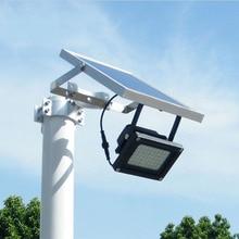 54 СВЕТОДИОДНЫХ Открытый Солнечный Прожектор Работает от Заката до Рассвета в Хорошем Солнечном Свете с Настенных Кронштейнов Регулируемый Светильник