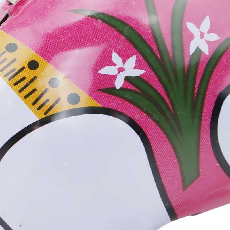 Красочный Милый Кролик бегущий ветер-вверх игрушка классические оловянные заводные игрушки Заводной заяц подарок на день рождения для младенцев детей