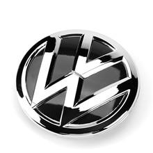 Эмблема (ОЕМ) передней решетки радиатора для Volkswagen Polo 2014, номер детали 6C0 853 600, диаметр 122 мм, ПВХ, ABS Chrome, 0.3 кг.
