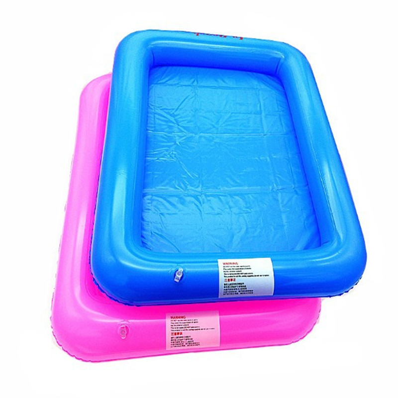 "2016 Hot Sale 60*45cm(23.6*17.7"") Inflatable Sand Tray Indoor Play No-Mess Clay Novelty Magic Toy Kid Creative Enlighten Beach"