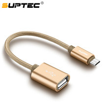 SUPTEC USB OTG Micro to USB Adapter Fast Charging Charger Data OTG Cable Converter for Macbook Samsung S6 S7 Xiaomi Huawei LG