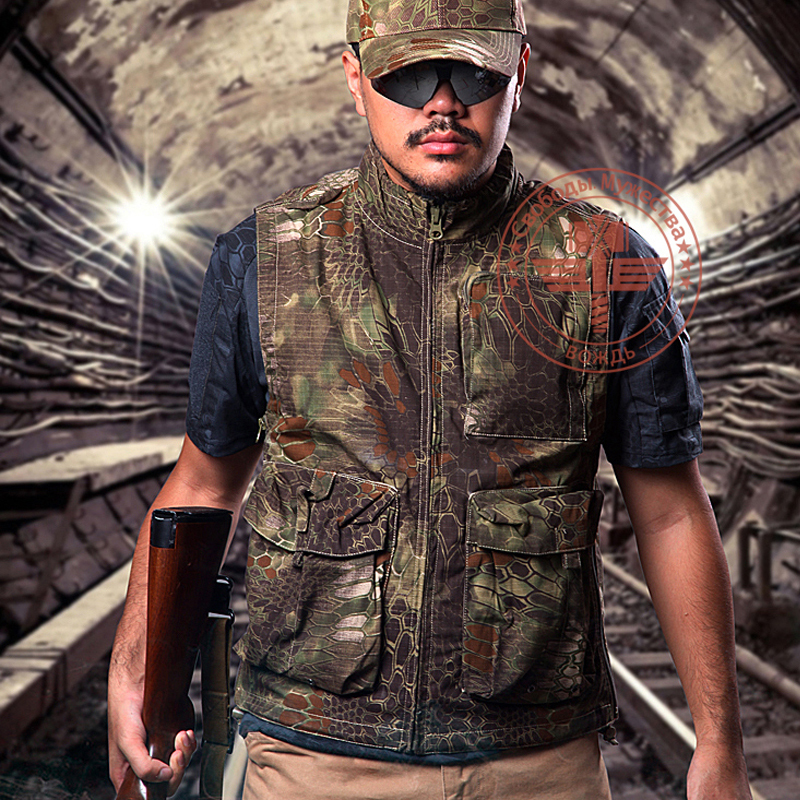ФОТО Men's Sport Tactical Hunting Shooting Vest Airsoft Motocycle Riding Fishing Hiking Clothing