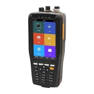 Touch Screen Optic Fiber OTDR Tester 60KM SM 1310/1550nm 22/20dB Built in VFL Optical Power Meter Light Source TM290