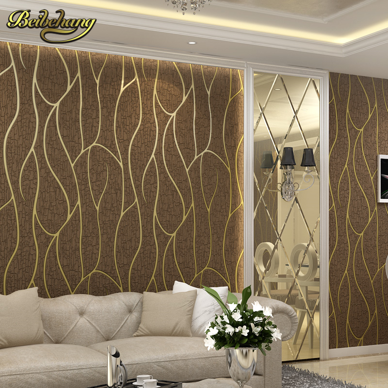 beibehang papel de parede 3D European Deer leather curve stripes wallpaper for walls wall paper for living room contact-paper wallpaper modern anchos travelling boat modern textured wallcoverings vintage kids room wall paper papel de parede 53x1000cm