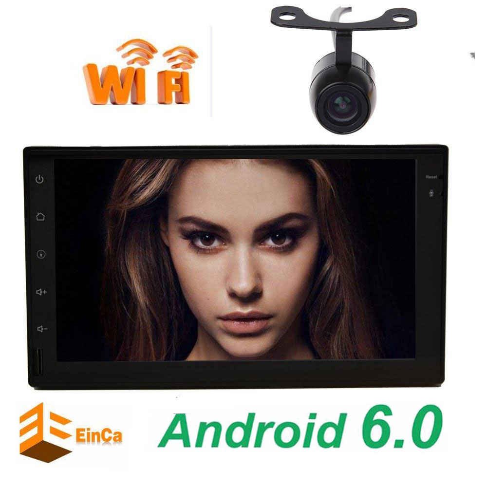 7 Android 6 0 Double 2 Din Car autoradio No DVD Player Stereo In Dash GPS