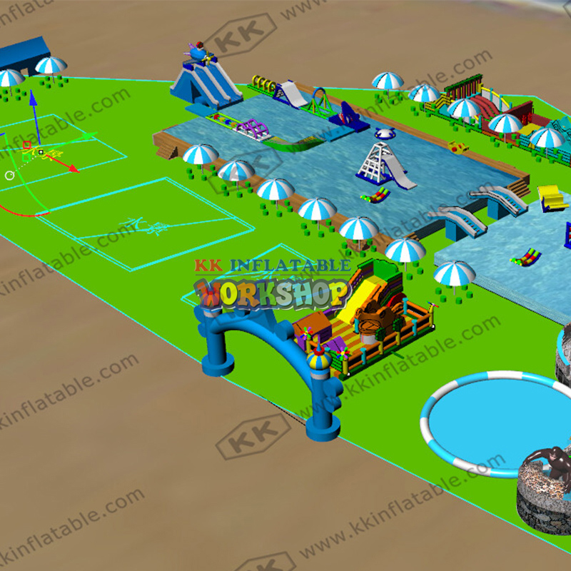 Inquiry Inflatable Water Park Made In China