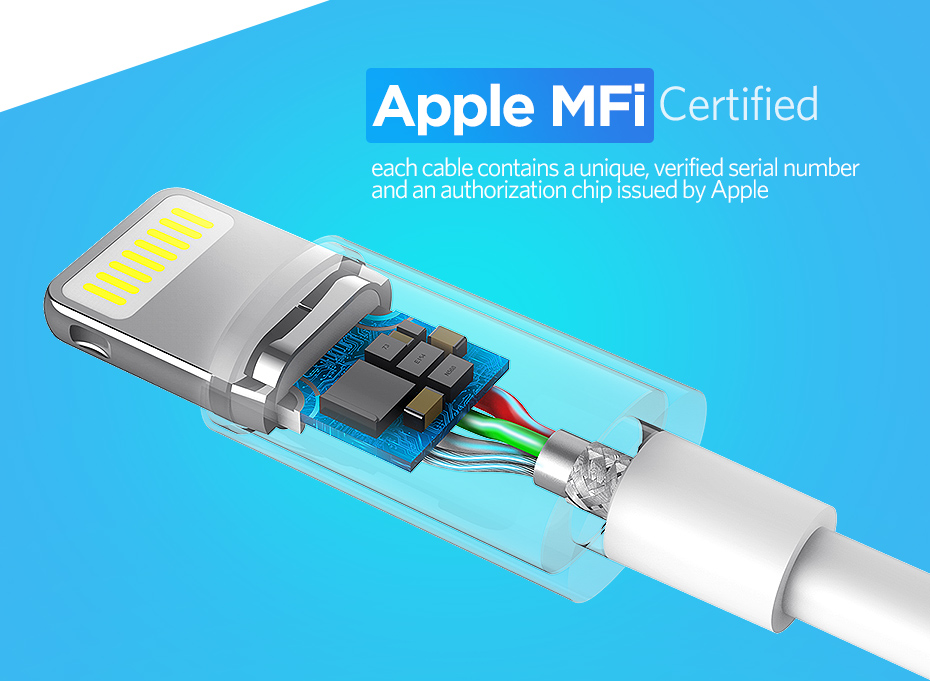 Fast Charging USB Cable for iPhone - Apple MFi Certified 11