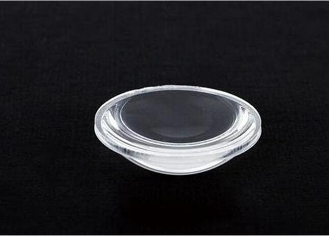 YM-27.7 высококачественный светодиодный оптический объектив, размер линз: 27,7X8,5 мм, ПММА материалы, используется для светодиодный фонарик, чистая поверхность