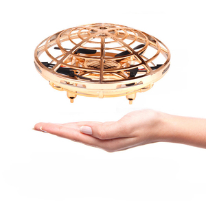 Image 4 - 2.4G Mini Drone RC Drone Headless Mode One Key Return RC Helicopter Four axis Aircraft Sensor Flying Saucer UFO Kids Outdoor Toy