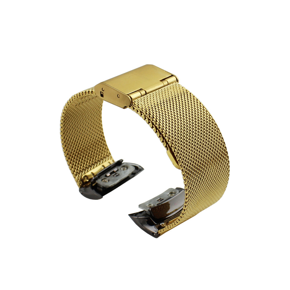 Fashion Milanese Stainless Steel Band For Samsung Gear Fit 2 SM-R360 Dignity Dropshipping Correa Cinta J28 samsung gear fit
