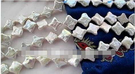 Darmowa wysyłka> 5 Nici Natural White Star Naszyjnik Z Pereł Słodkowodnych Shell Zapięcia
