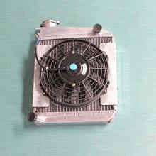 Высокая производительность 50 мм из алюминиевого сплава радиатор и вентилятор для мини купер s, Один clubman, 850 / 998 / 1098 / 1275 куб. см GT 1959 — 1996