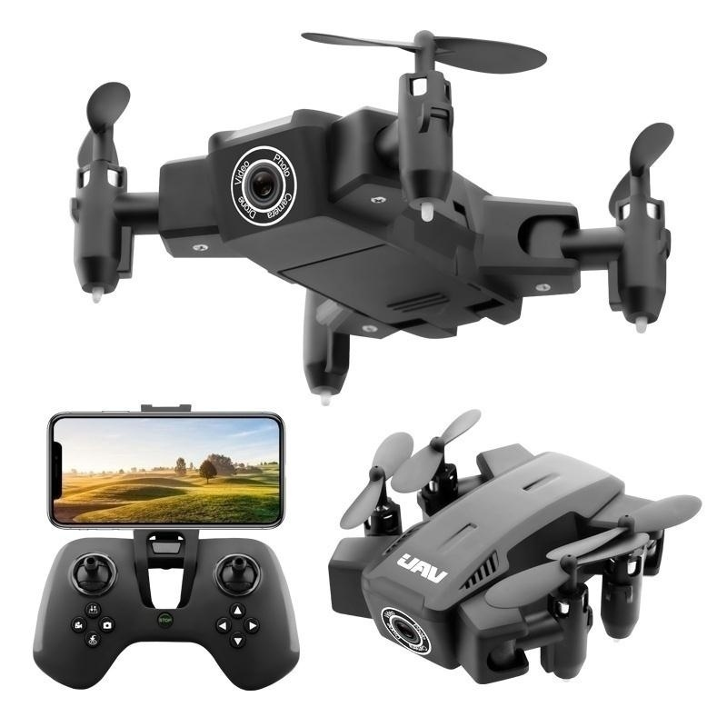 Foldable XY-019 Mini FPV RC Drone Pocket Quadcopter with HD Camera 3D Flips and Headless Mode Pocket Dron Aircraft Квадрокоптер